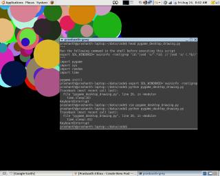 desktop circle graphics